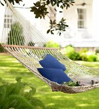 DuraCord Weather-Resistant Cotton-Feel Rope Hammock