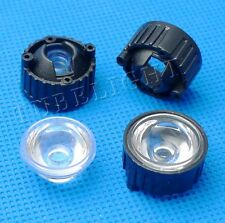 5 8 15 25 30 45 60 90 120 degree Lens with 20mm holder for 1W 3W High Power LED