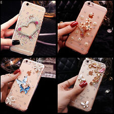 Bling crystal Gems Diamonds hard ultra thin back Shell Phone Case Cover Skin H