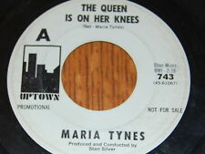 vintage Maria Tynes 45 record Change My Mind & The Queen Is On Her Knees Promo