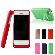 2200mAh External Travel Battery Charger Back Up Power Case For iPhone 5 5S 5G SE