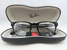 Ray-Ban RB 5309 2034 Black on Clear New Authentic Eyeglasses 51/21/145mm w/Case