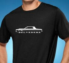 1963 1964 Plymouth Belvedere Muscle Car Tshirt NEW FREE SHIPPING