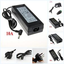 12V 1A 2A 3A 5A 6A 7A 8A 10A Power Adapter Transformer For 3528 5050 LED Strip