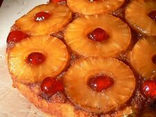 Pineapple Upside Down Cake Fragrance Oil Candle Making Supplies FREE SHIPPING
