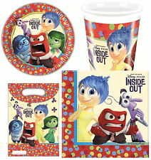 INSIDE OUT PARTY TABLEWARE NAPKINS PLATES CUPS TABLECOVERS