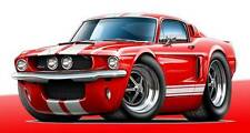 1967 Shelby GT500 Mustang Muscle Car Art Print NEW