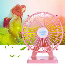 Portable Humidifier Fan Handheld USB Mini Misting Cooling Fan