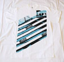 NEW DC Shoes T Shirt (Tee) 100% Authentic White 2-  DC Star Logo