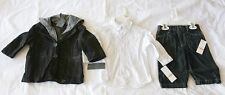 NWT Kenneth Cole Reaction 3 Piece Jacket Set for Toddlers 100% Authentic Boys