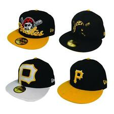 New Era Pittsburgh Pirates Baseball MLB Classic 5950 59Fifty Fitted Hat Cap