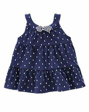 NWT Gymboree Girls Hop N Roll Polka Dot Tiered Tank Bow Top Size 2T 3T 4T 5T