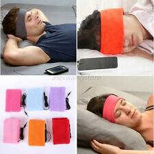 New Soft Sleeping Mask Headphone Headset Headband for Mobile Phone/iPhone/HTC