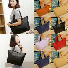 Fashion Women's Lady Casual PU Leather Handbag Shoulder Bag Sling Hand Tote Bag