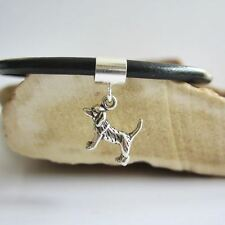 Beagle Mini Sterling Silver European-Style Charm and Bracelet- Free Shipping