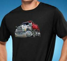 Mack Dump Truck Cartoon Tshirt NEW FREE SHIPPING