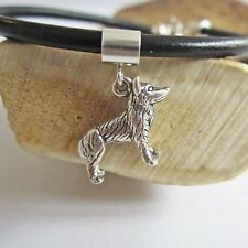 Husky Large Sterling Silver European-Style Charm and Bracelet- Free Shipping