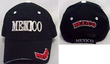 """ Mexico"" Embroidered Baseball Caps 1Pc or Wholesale 6 Pcs  (EGCapMx71#)"
