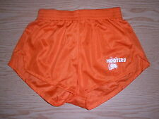 NEW HOOTERS HALLOWEEN ORANGE UNIFORM SEXY/SILKY SHORTS RARE FIND SIZE SMALL