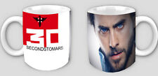 30 SECONDS TO MARS - JARED LETO-NEW - COFFEE/TEA MUG !!!