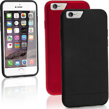 """PC Hard Case Glider Cover for Apple iPhone 6 & 6S Plus 5.5"""" Bumper Screen Prot"""