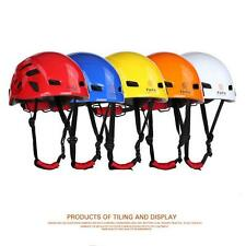Safety Rock Climbing Tree Carving Downhill Rescue Helmet Gear Equipment %