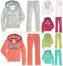 AEROPOSTALE WOMENS FULL ZIP HOODIE AND SWEAT PANTS SET JOGGING SUIT MSRP $89