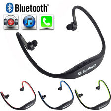Wireless Earphone Bluetooth Headset sports Headphone For Cell Phone PC iPad iPod