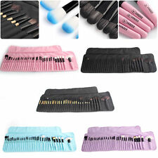32pcs Vander Pro Eyebrow Shadow Soft Makeup Brushes Set Kit + Pouch Bag