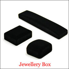 New Velvet Presentation Gift Jewellery Ring Necklace Bracelet Display Box Case