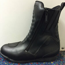 SALE CHEAP RK SPORTS 1833 MID LENGTH BLACK MOTORCYCLE MOTORBIKE SCOOTER BOOTS