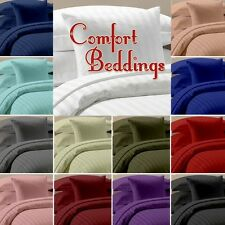 1000Tc New Brand 100%Egyptian Cotton 5pc Duvet Set Collection In ALL Size & Col