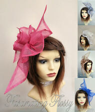 Large Sinamay Statement Fascinator - various colours (see listing) - Free P&P