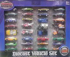 32 Diecast Vechicle Set - Motor Mania ** GREAT GIFT **