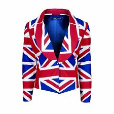 Ladies Union Jack Jacket - Made in Britain - Made to Order
