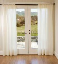 """Thermalogic™ ThermaSheer Insulating Rod-Pocket Curtain  84""""L x 50""""W"""