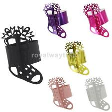 50Pcs Sock Napkin Buckle Napkin Holder Ring Party Banquet Table Decor 6 Colors