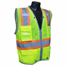 RADIANS SV6HG SAFETY Hi-Viz Class 2 Heavy Duty Two-Tone Surveyor Reflective Vest