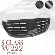MERCEDES BENZ S CLASS W222 SPORT MESH FRONT GRILLE S350 S500 S550 S600 S63 AMG