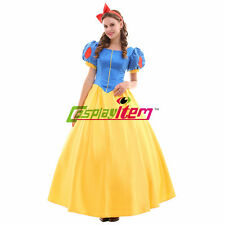 Adult Princess Snow White Dress Adult Halloween Party Cosplay Costume Version2