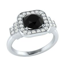 1.05 ct Natural Spinel & Certified Diamond Solid Gold wedding Engagement Ring