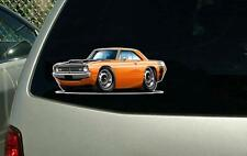 1970-71 Dodge Dart Swinger Vinyl Cut Sticker Decal NEW FREE SHIPPING
