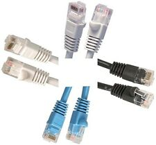 125 Foot Category 5e (CAT-5e) Molded Snagless Network Ethernet Patch Cable 125ft