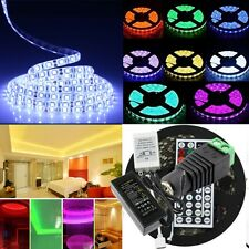 5050 SMD Lighting Flexible LED Strip Lights /44key Remote/5A Power Supply DC12V