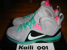 Nike Air Zoom Lebron 9 P.S. Elite South Beach Miami Vice Night Solar Sprite B