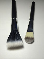 Black Fiber Powder Blush Brush And foundation brush Cosmetic Stipple Makeup Tool