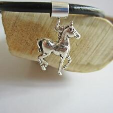 Horse Charm and Bracelet-Sterling Silver European-Style - Free Shipping