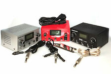 LCD Digital Dual Tattoo Power Supply 2 Clip Cords 1 Foot Pedal 99-1009-01,06,08