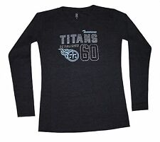 Nfl Womens Apparel - Tennessee Titans Ladies Thermal Nfl Team Tee Shirt,nwt, MED