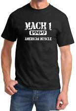 1969 Ford Mustang Mach 1 American Muscle Car Classic Design Tshirt NEW FREE SHIP
